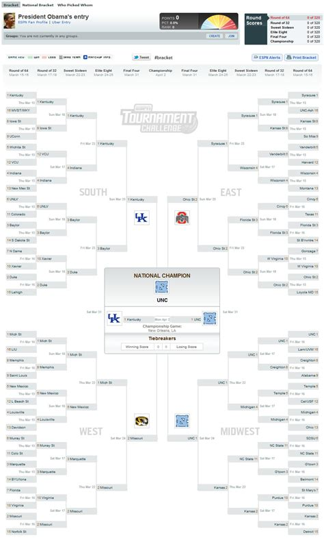 president obamas bracket for the 2013 ncaa mens president obama makes 2012 ncaa tournament bracket picks