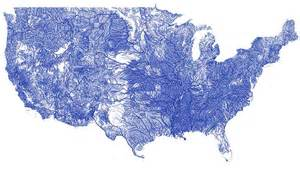 map of america with rivers all the rivers in the united states on a single beautiful