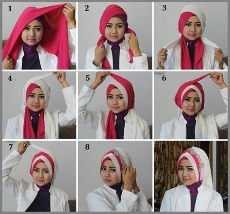 tutorial jilbab saat wisuda tutorial hijab wisuda terbaru 2017 paling mudah dan simpel
