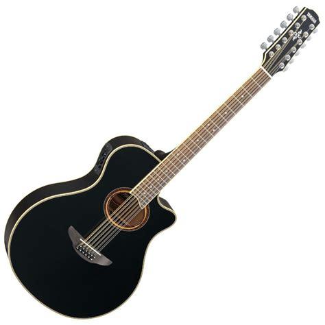 Yamaha Apx600 yamaha apx700ii 12 string electro acoustic guitar black