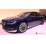 Lincoln Continental Concept  Exterior And Interior