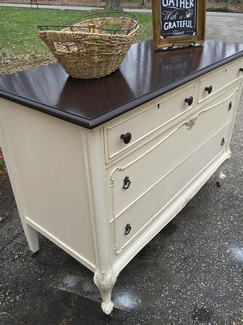 White Dresser With Stained Top by 1000 Ideas About General Finishes On Milk Paint Java Gel And Gel Stains