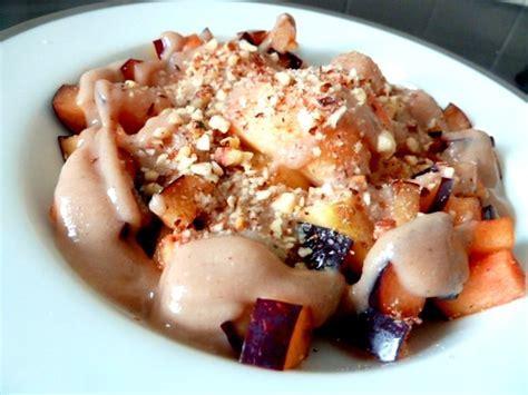 desserts automne dessert d automne pomme prune recette de cuisine alcaline