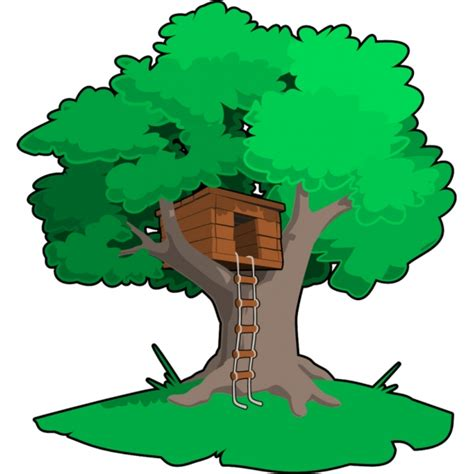 disegno casa disegno di casa sull albero a colori per bambini