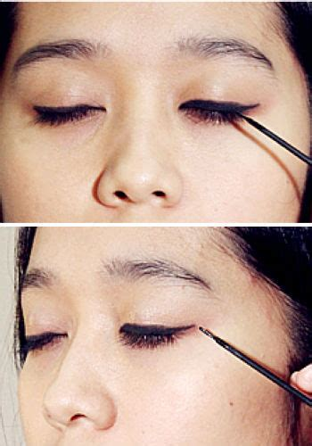 tutorial memakai eyeliner gel wardah gudangnya tips tips simple tips memakai eyeliner cair