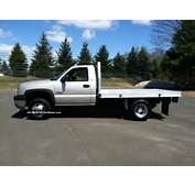 3500 Dually Flatbed Duramax Diesel 4x4 Allison Trans Silverado