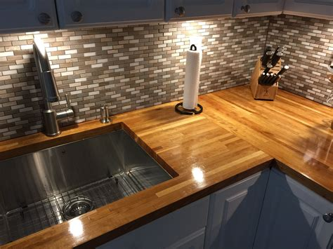 Advantages Of Butchers Block Countertop The Wooden Houses Butcher Block Kitchen Countertops