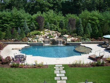 backyard aqua designs 11 best vinyl liner pools images on pool