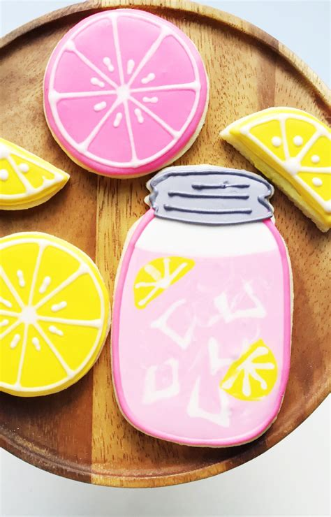 Summer Decorated Cookies by Pink Lemonade Decorated Sugar Cookie Recipe Best Friends