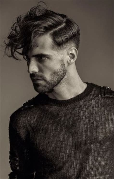 haircut with weight line hairstyles the contrast weight line men