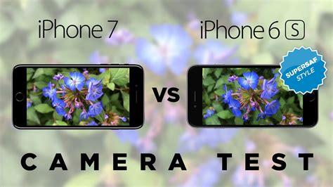iphone 7 vs 6s test comparison