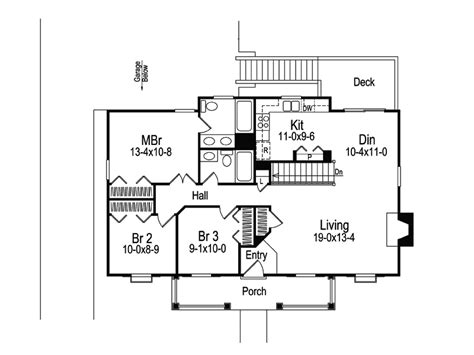 briarwood country cottage home plan 007d 0030 house