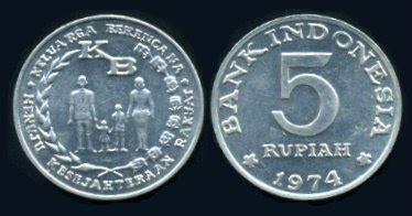 Koin Rp 50 Emisi 1971 uang kuno uang logam indonesia