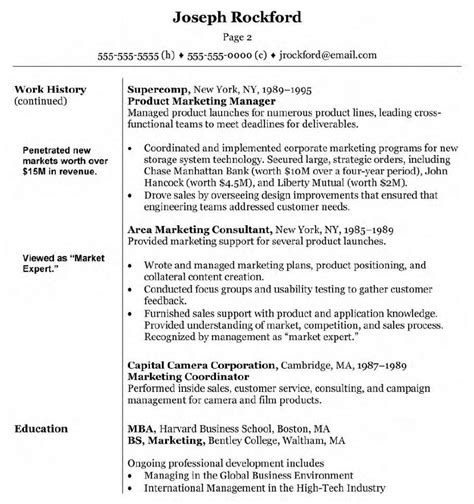 Director Resume by Marketing Manager Resume Exle Exles Of Resumes