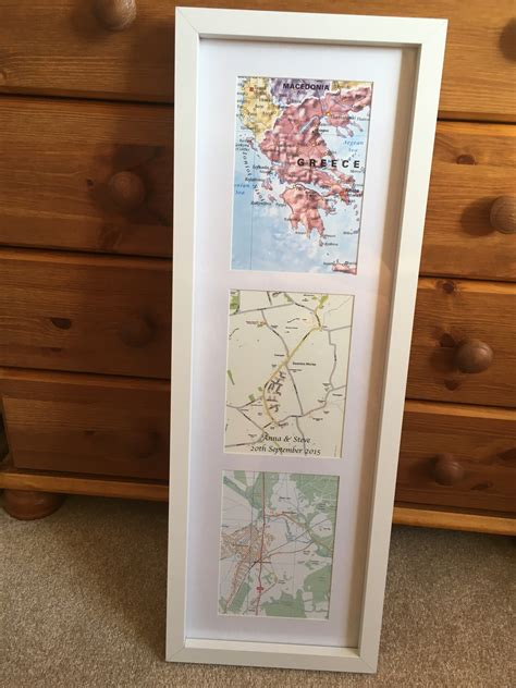 personalised map gift ideas cosmographics