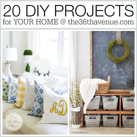 Diy Home Decor Crafts by Home Decor Diy Projects The 36th Avenue Bloglovin