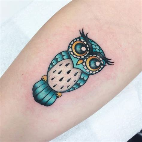 colorful owl tattoo owl tattoos and designs that are actually amazing