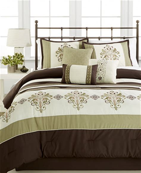 macy bed in a bag marin 7 pc comforter set only at macy s bed in a bag