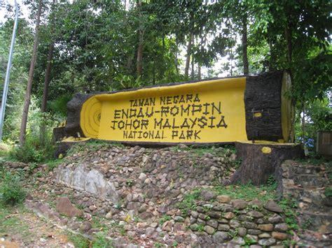 Cover Lu Taman endau rompin national park malaysia i u