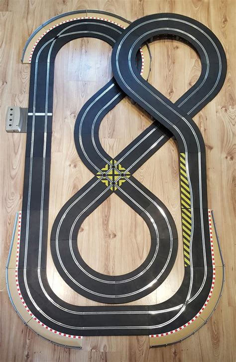 zf2 set layout in action scalextric sport 1 32 track set double figure of eight