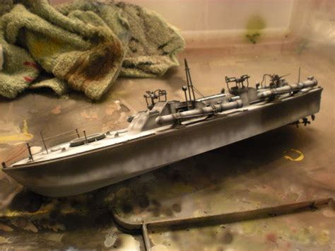 are there any pt boats left the combat workshop revell 1 72 pt boat part ii