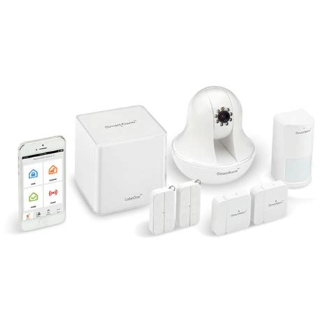 ismartalarm premium package home security system isa6 b h