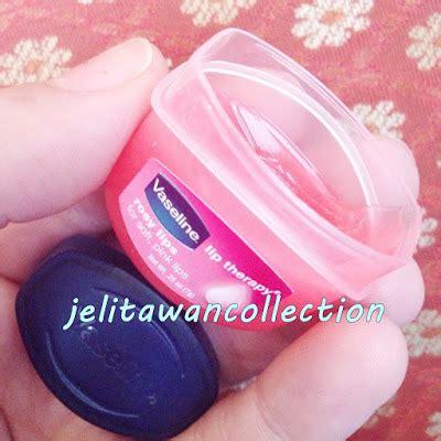 Lipstik Vaseline bibir cantik memikat dengan vaseline lip therapy