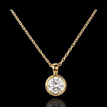 cadenas de oro finas para mujer collar mu 241 eca solitario oro amarillo joyas edenly