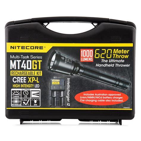Nitecore Mt40gt Senter Led Cree Xp L Hi V3 1000 Lumens Kits 1 nitecore mt40gt senter led cree xp l hi v3 1000 lumens kits black jakartanotebook