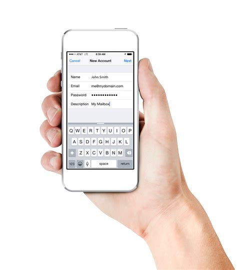 iphone mail layout how to setup e mail on your iphone ocala web design seo