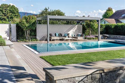 kleiner pool für garten dekoideen 187 gartengestaltung mit pool bilder