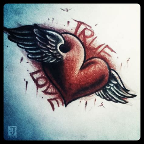 true love tattoo design custom tatoo guide to get true designs
