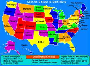 united states interactive interactive map click and