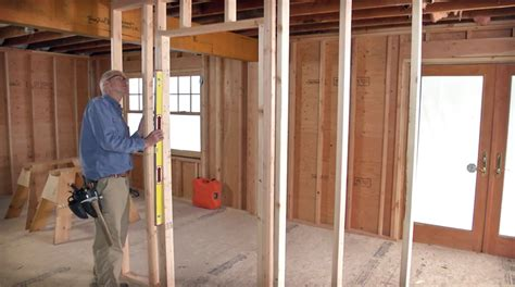 Framing An Interior Wall With A Door How To Frame A Door Opening Homebuilding