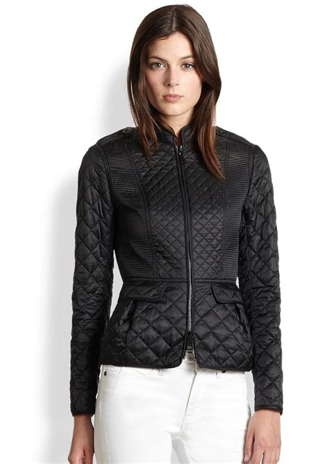 Womens Burberry Quilted Jacket Sale by Burberry Burberry Dearington Quilted Jacket