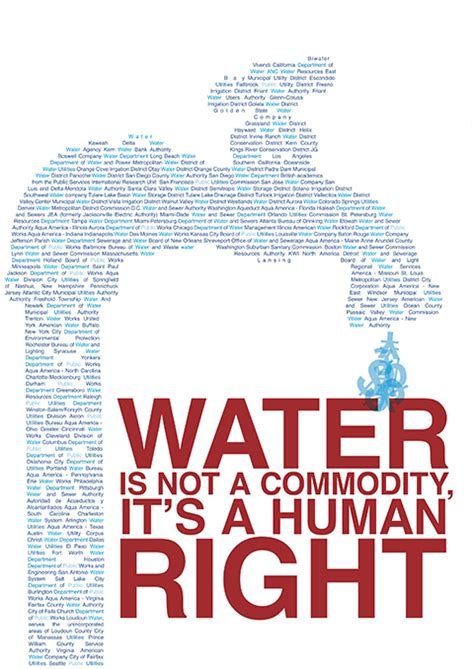 design is not a commodity water is a human right dan chen
