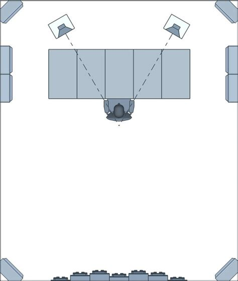 Ceiling Speaker Layout by Acoustic Treatment Setup 101 How To Treat Your Room