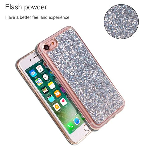 For Iphone 6 6s Plus Soft Luxury Bling Glitter Shine for iphone 6 6s plus luxury bling glitter protective