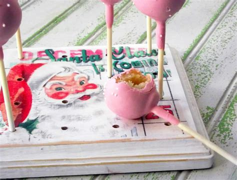 diy cake diy cake pop stand for the holidays mod podge rocks