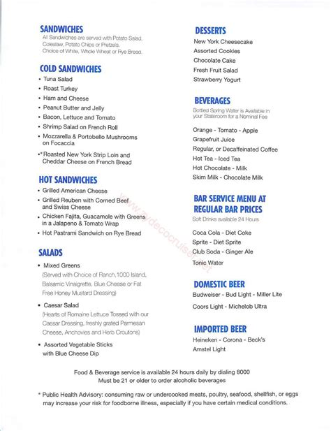 daily grill palm desert open table carnival inspiration room service menu
