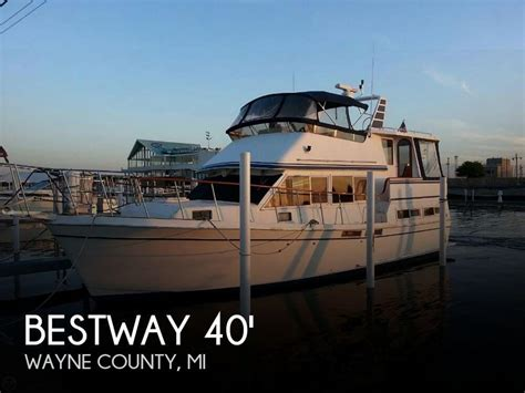 used layout boat for sale in michigan 1987 bestway 40 labelle trawler for sale in detroit