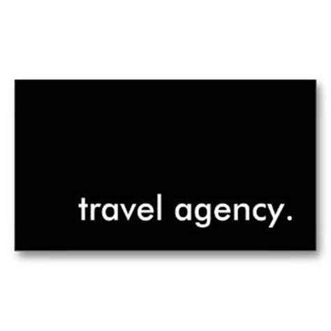 travel business card template leisure travel agency business cards on popscreen