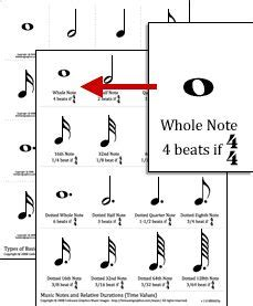printable music note value flash cards 424 best piano images on pinterest music education