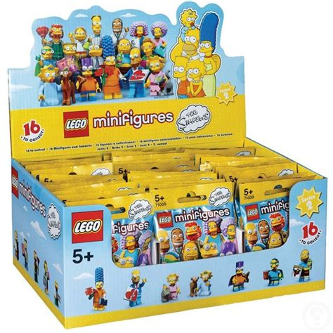 Lego 71009 3 With Snowball Ii Minifigures Simpsons Series 2 lego minifigures 71009 the simpsons series 2 box set