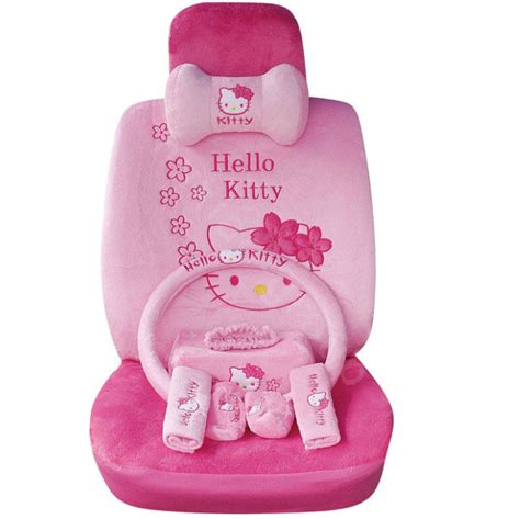 1 Set Cover Hello Pink hello car seat covers