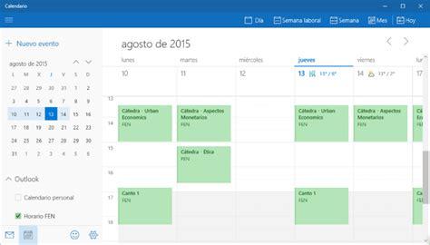 Calendario Windows 10 C 243 Mo Usar Calendar Desde La App De Calendario De