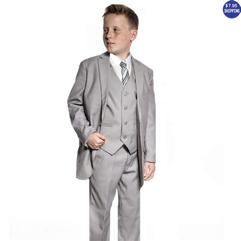 boys light blue suit boys slim fit navy blue suit 5 piece set for baby