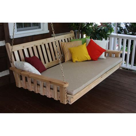 unfinished pine bedside pine 6 traditional english swing bed a l