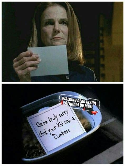 the walking dead memes deanna alexandria safe zone