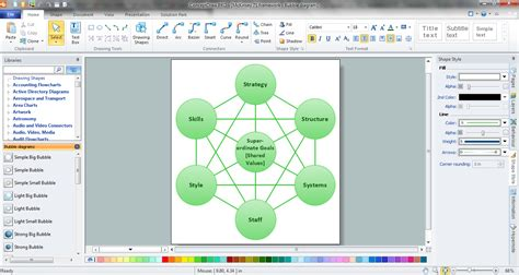 Bubble Map Maker Creator Template